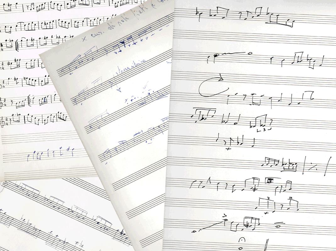 Pier Renzo Ponzo Music Scores